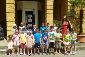 Posjet polaznika predškolskog odgoja i igraonice pri Osnovnoj školi Kalnik gradu Zagrebu