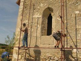 Radovi na kapeli sv. Andrije u Kamešnici
