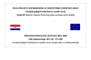Odluka o donošenju III. ID PPUO Kalnik