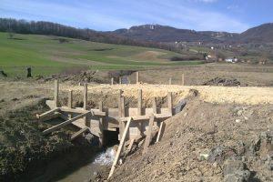 Radovi na regulaciji vodotoka u Kalničkom potoku