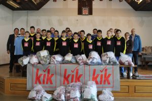 KiK Textilien donirao malonogometne klubove s područja Općine Kalnik