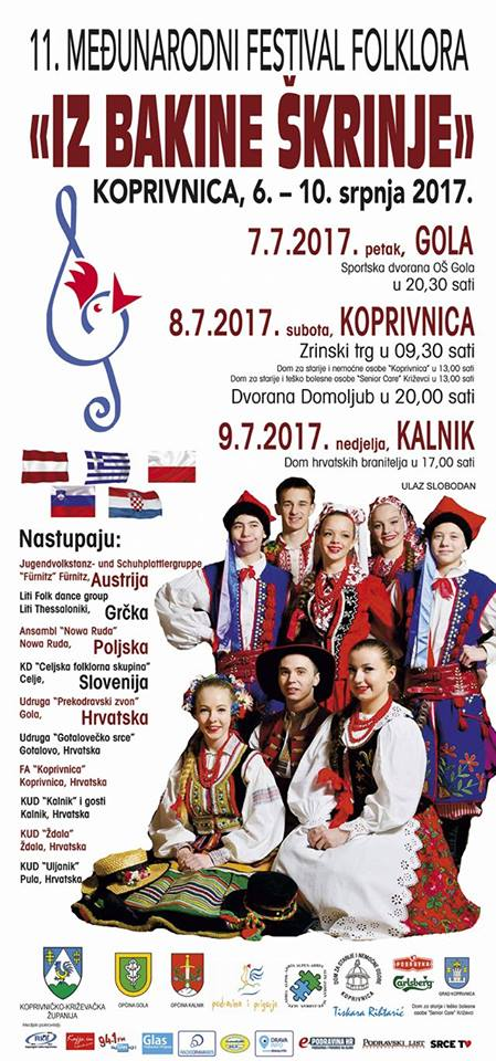 11. Međunarodni festival folklora _Iz bakine škrinje_