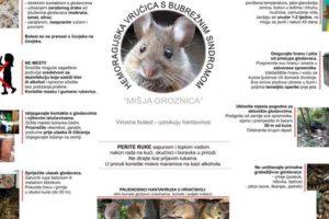 Edukativni letak o preventivnim mjerama zaštite pučanstva od mišje groznice
