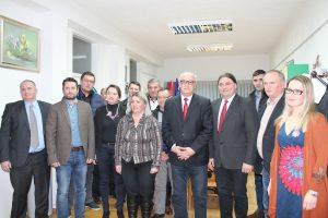 Ministar trgovine i turizma Republike Srpske Predrag Gluhaković u posjetu Općini Kalnik