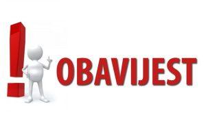 Obavijest o obvezi poštivanja odredbi Odluke o komunalnom redu Općine Kalnik