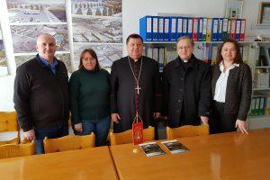 Biskup bjelovarsko-križevački mons. Vjekoslav Huzjak u posjeti Općini Kalnik