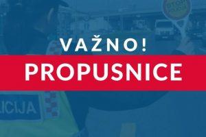 Ukinuta mjera napuštanja mjesta prebivališta i stalnog boravka za područje Koprivničko-križevačke županije